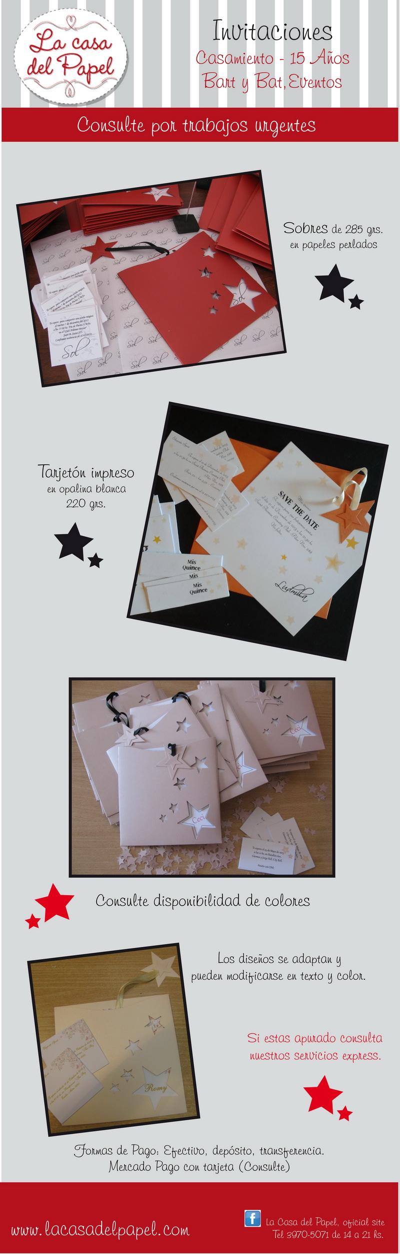 Invitaciones de casamiento caladas, impresas, con detalles finos con cinta