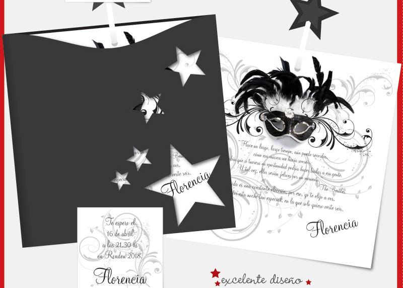 Invitaciones, Participaciones Para Casamiento, 15 Años (Invitaciones ...